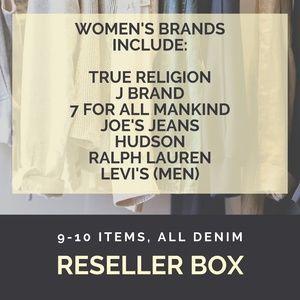 LAST CALL Reseller Box - Women's Denim Jeans